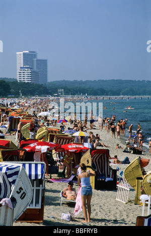 Timmendorf Beach, Luebeck Bay, Baltic Sea, Germany, Europe - Stock Photo