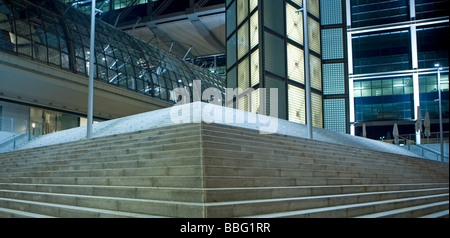 Berlin central railway station - Stock Photo