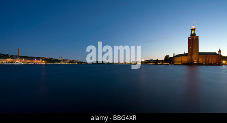 City Hall in Stockholm - Stock Photo