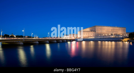 Royal Palace in Stockholm - Stock Photo