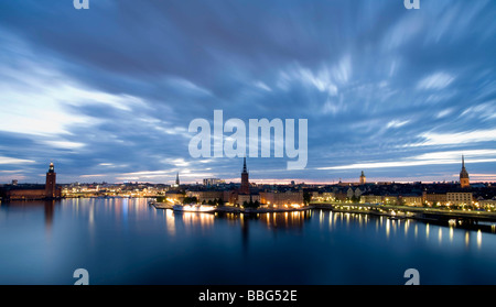 Skyline of Stockholm - Stock Photo