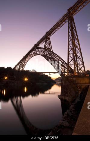 Ponte Dona Maria Pia - Stock Photo
