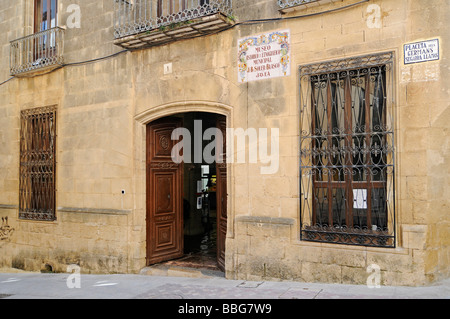 Museo Arqueológico y Etnografico Soler Blascoy, historical, archaeological and ethnographic museum, old town, Javea, - Stock Photo