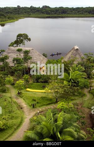 Napo Wildlife Center - Yasuni National Park, Napo Province, Ecuador - Stock Photo