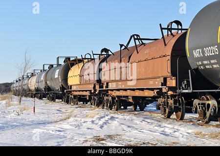 Train on tracks. - Stock Photo