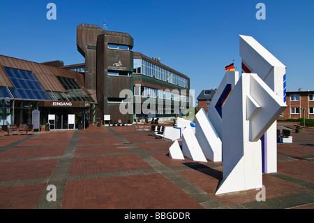 Wellness center and spa 'Syltness Center' in Westerland, Sylt island, Schleswig-Holstein, Germany, Europe - Stock Photo