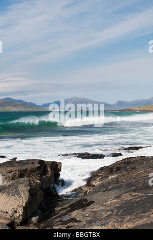Traigh Lar  beach, Isle of Harris, Outer Hebrides, Scotland - Stock Photo