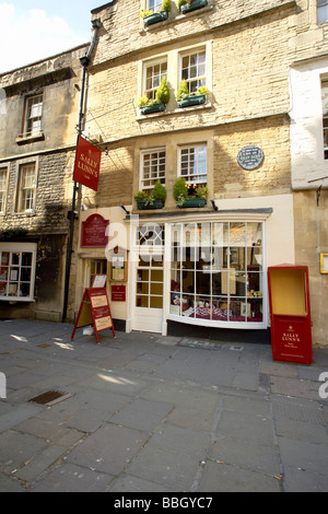 Baths Sally Lunns tearooms. Home of the Sally lunn bun and the oldest house in Bath. - Stock Photo