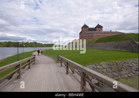 Castle Hameenlinna Finland - Stock Photo