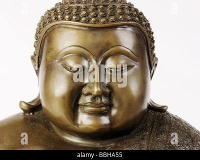 Meditating Buddha - Stock Photo