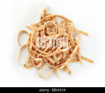 Celestine noodles - sliced pancakes - Stock Photo