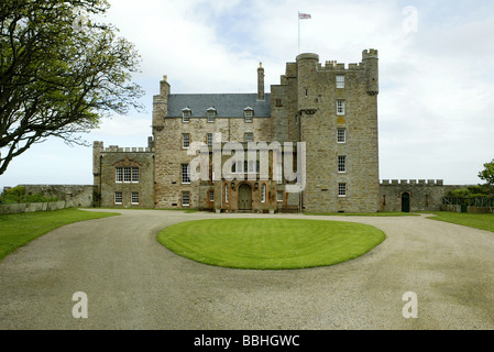 The Castle of Mey on the north coast of Scotland near the town of Thurso