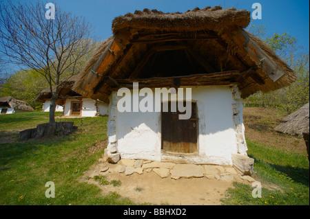 Wine cellars of Cak - Velem Hungary (Cák) - Stock Photo