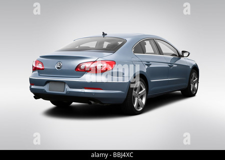 2009 Volkswagen CC VR6 in Gray - Rear angle view - Stock Photo