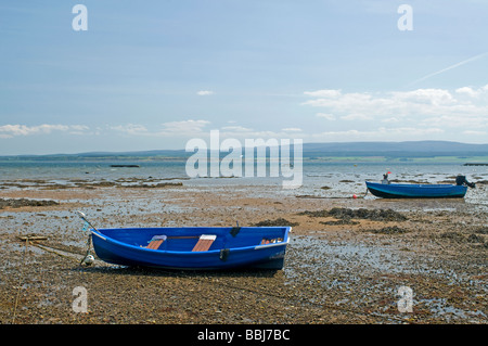 The seafront at Avoch Village on the Black Isle Ross and Cromarty Scotland - Stock Photo