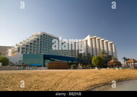 Israel Dead Sea Golden Tulip Club Hotel - Stock Photo