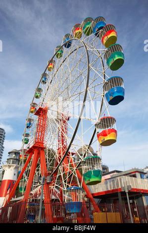 Ferris Wheel Luna Park Sydney New South Wales Australia - Stock Photo