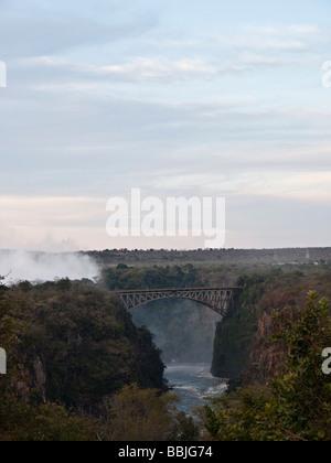 Victoria Falls, Hwange NationalPark, Zimbabwe. - Stock Photo