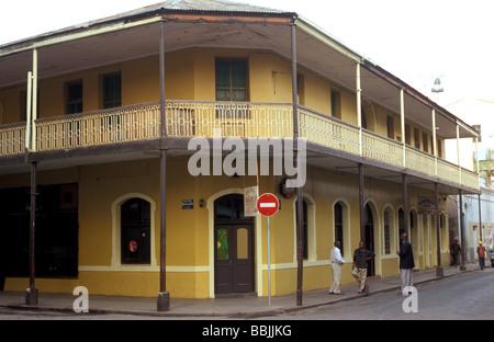 central hotel baixa maputo mozambique - Stock Photo