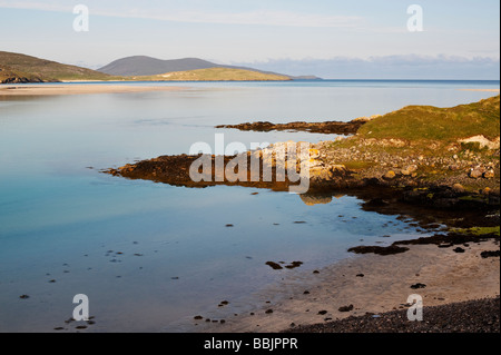 Luskentyre beach, Isle of Harris, Outer Hebrides, Scotland - Stock Photo