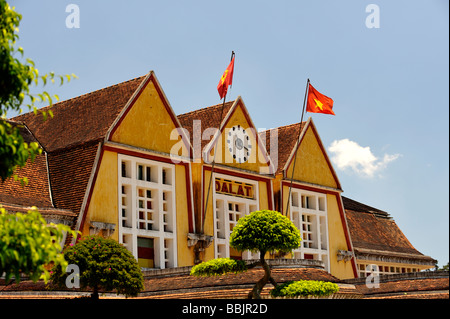 Vietnam Dalat Railway Station Tourist Train To Trai Mat