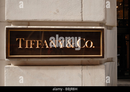 Tiffany co new york usa stock photo royalty free image for Jewelry stores in new york ny