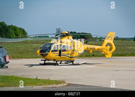 G-SASB Eurocopter EC135T2 Scottish Air Ambulance Bond Air Services Ltd  SCO 2478 - Stock Photo
