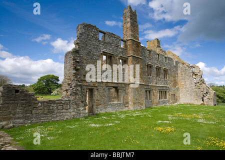 Egglestone Abbey near Barnard Castle County Durham - Stock Photo