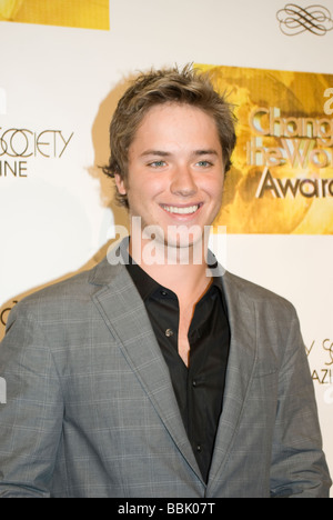 BEVERLY HILLS MAY 31 2009 Actor Jeremy Sumpter Friday Night Lights at the Change the World Humanitarian Awards Gala - Stock Photo