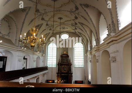 Klaus synagogue interior Prague Czech Republic - Stock Photo