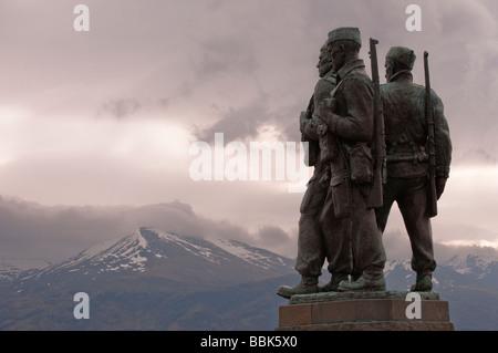 Commando Monument - Stock Photo