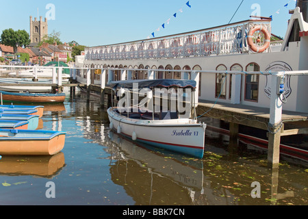 Boats At Henley On Thames - Stock Photo