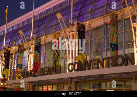 Long Beach Convention Center Waterfront Center Long Beach California - Stock Photo