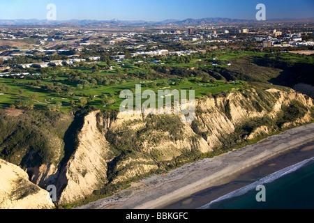 Torrey Pines Golf Course San Diego County La Jolla California - Stock Photo