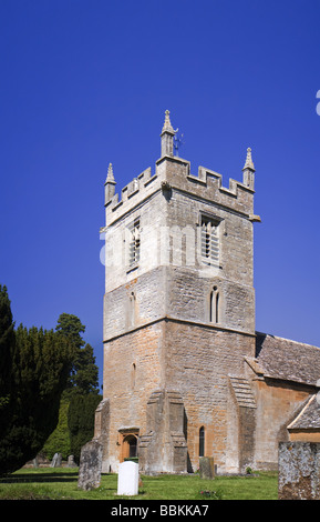 stanway church and stately home in the cotswolds - Stock Photo