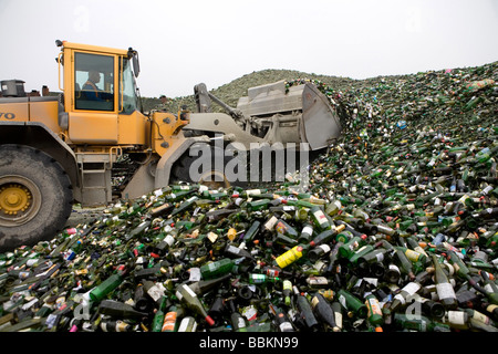Recycling of toxic waste All municipalities in The Netherlands are required to provide known collection points for - Stock Photo