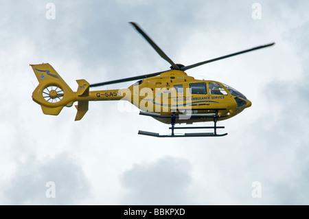 G-SASB Eurocopter EC135T2 Scottish Air Ambulance Bond Air Services Ltd  SCO 2500 - Stock Photo