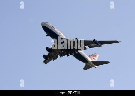 Commercial jet airliner, British Airways, Boeing 747-436