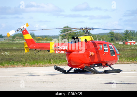 MBB BO-105DBS-4 Bond Air Services for ther Northern Lighthouse Board.  SCO 2513 - Stock Photo