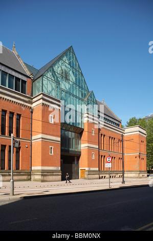 Crown Court in Minshull street Manchester UK - Stock Photo