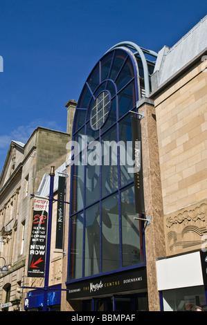 dh Kingsgate Shopping Centre DUNFERMLINE FIFE High street enterance to indoor shopping centre mall Scotland