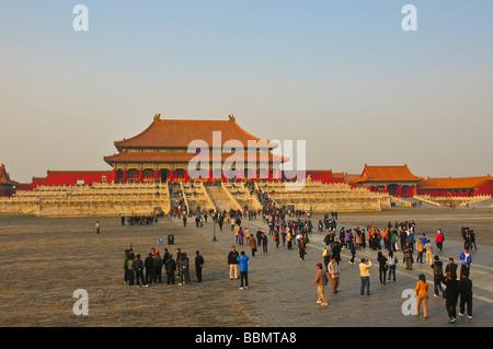 Beijing The Forbidden city - Stock Photo