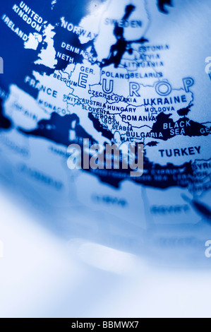 europe map - Stock Photo
