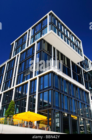 Modern Residential Building At Kaiserkai In The Hafencity Harbor City Hamburg Germany Europe