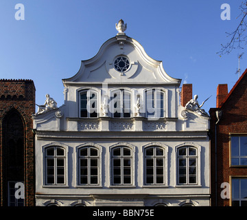 luebeck germany city center of luebeck stock photo royalty free image 61942740 alamy. Black Bedroom Furniture Sets. Home Design Ideas