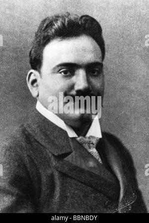 Caruso, Enrico, 25.2.1873 - 2.8.1921, Italian opera singer (tenor), portrait, after photography, 1904, , Additional - Stock Photo
