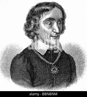 Werner, Zacharias, 18.11.1768 - 17.1.1823, German dramatist, portrait, wood engraving, 19th century, Additional - Stock Photo