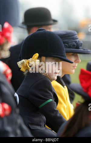 Pony judging at Royal Windsor horse show - Stock Photo