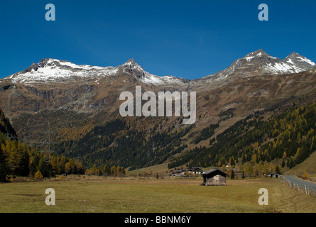 geography / travel, Austria, Tyrol, Gschloesstal, Hohe Tauern, Additional-Rights-Clearance-Info-Not-Available - Stock Photo
