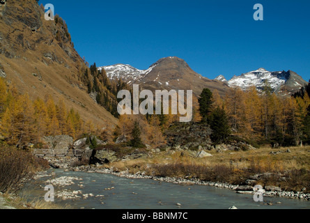 geography / travel, Austria, Tyrol, Gschloesstal, Gschloessbach, Additional-Rights-Clearance-Info-Not-Available - Stock Photo